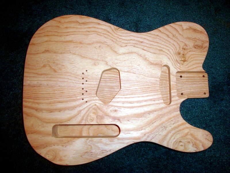 Before we start aging the swamp ash guitar