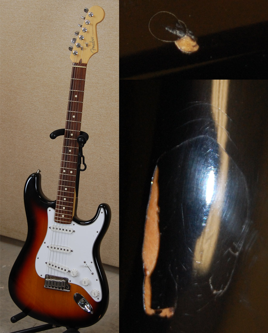 1999 American Standard Stratocaster with dings