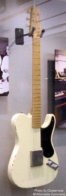 Starting point for the Solacure Telecaster Prototype